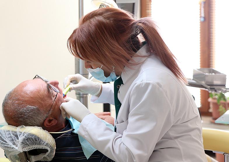 installing new dentures